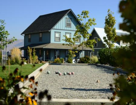 Bocce Courts The Lookout at Lake Chelan
