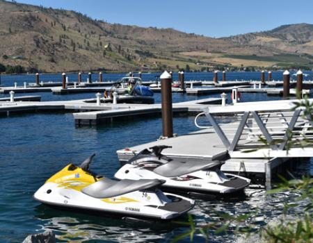 Marina at The Lookout at Lake Chelan