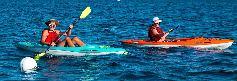 kayaking The Lookout at Lake Chelan