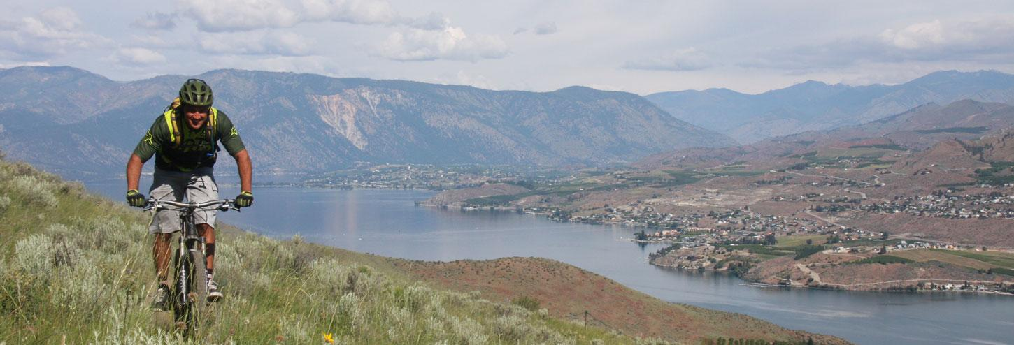 Mountain Biking Chelan Valley Lookout at Lake Chelan