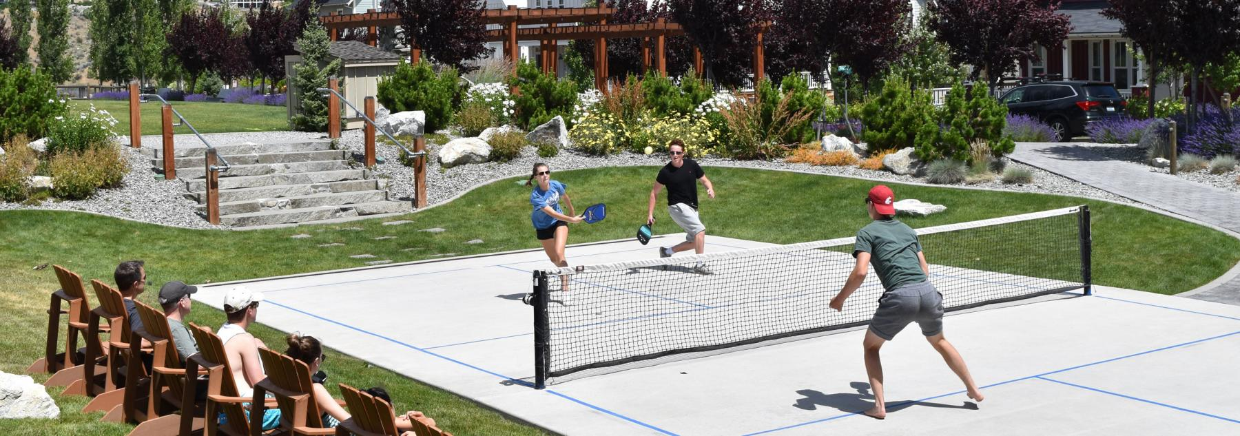 Pickleball The Lookout at Lake Chelan