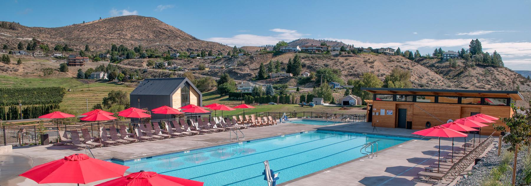 New Vineyard Pool, Open Year-Round!