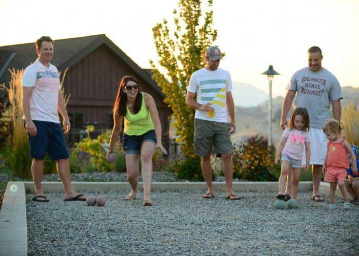 Bocce Ball The Lookout at Lake Chelan